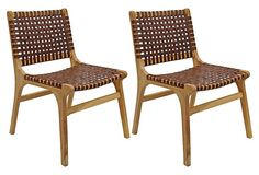 One Kings Lane - July 4th Blowout Sale - Tina Dining Chairs, Pair