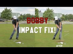How to improve your Impact postion in 1 swing with Bobby Lopez, PGA Shaf...