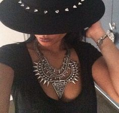 Cool Statement necklace!