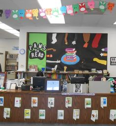 """Summer Reading Program 2014 """"Paws to Read!"""" at Stanton Library."""