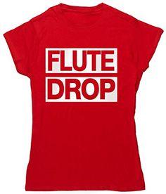 HippoWarehouse flute drop womens fitted short sleeve t-shirt HippoWarehouse http://www.amazon.co.uk/dp/B00TOCWPJO/ref=cm_sw_r_pi_dp_HiA6vb13JH5D9
