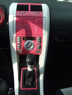 Interior in pink loveeee it!, I need mine like that but blue