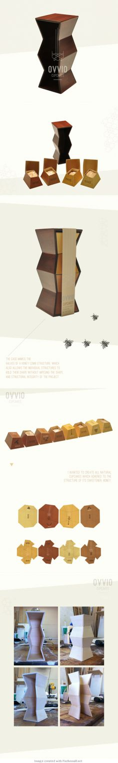 Ovvio Cupcakes (Student Project #packaging PD
