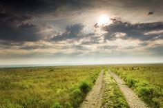 Dramatic Sunrise over the #Kansas Tallgrass Prairie Preserve National Park