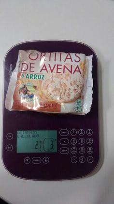 Tortitas de avena y arroz Hacendado. Smartpoints