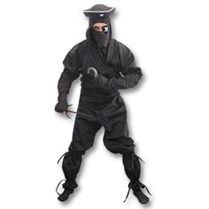 Pirate Ninja Costume now available at http://www.karatemart.com
