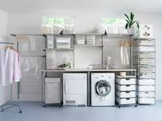 Space Saving Fold Down Wall Mounted Table With Shelf And Storage As Well As Laundry Room Counter Ideas Plus Laundry Room Remodel. Garage Laundry Rooms, Laundry Room Counter, Laundry Room Folding Table, Laundry Room Layouts, Laundry Room Remodel, Laundry Room Organization, Laundry Room Design, Wall Mounted Table, Ikea