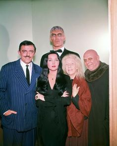 Original Addams Family, The Addams Family 1964, Addams Family Tv Show, Ted Cassidy, John Astin, Gomez And Morticia, Morticia Addams, Charles Addams, Tv Movie