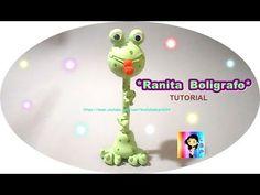 Manualidades en porcelana fria FACILES- Jirafa paso a paso - DIY Penholder giraffe Cold porcelain - YouTube