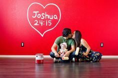 New home announcement Joshua 24:15