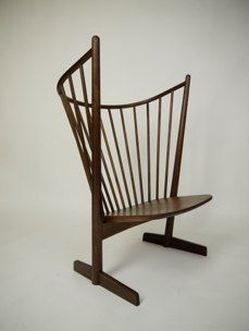 Shawn Place owl chair - soaped white ash or oiled walnut