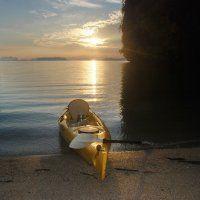 travel thailand kayak canoe beach camping