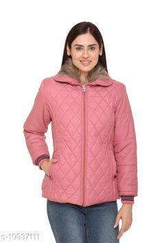 Jackets Womens Detachable Collar Rose Pink Zippered Jacket Fabric: Nylon Sleeve Length: Long Sleeves Pattern: Self-Design Multipack: 1 Sizes:  XL (Bust Size: 42 in Length Size: 29 in)  L (Bust Size: 40 in Length Size: 28 in)  M (Bust Size: 38 in Length Size: 27 in)  XXL (Bust Size: 44 in Length Size: 30 in)  Country of Origin: India Sizes Available: M, L, XL, XXL, XXXL   Catalog Rating: ★4 (434)  Catalog Name: Trendy Elegant Women Jackets & Waistcoat CatalogID_1794511 C79-SC1023 Code: 5331-10037111-2973