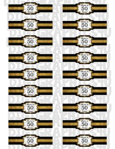 Cigar Band Label Template So You Can Print Your Own Custom Cigar - Cigar label template