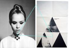 b/w photography + triangles.