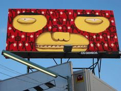 Billboards I like #OsGemeos