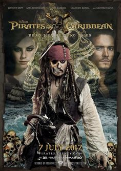 Pirates of the Caribbean 5: Dead Men Tell No Tales. I CAN'T WAIT!!!! I HOPE I CAN SEE IT IN THEATERS!!!!!