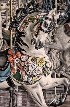 Another beautiful carousel horse