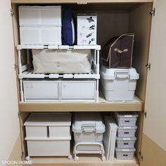 ニトリの押入れ整理ラックのブログ画像 Tidy Up, Organization, Organizing, Storage, Interior, Table, Room, Closet, Furniture