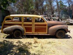 '40 Buick Woody Estate Wagon