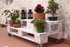Giardino in stile Rustico di ECOdECO Mobiliario