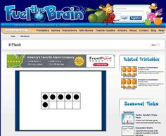 Five and Ten Frames Flash Cards