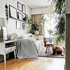 #living #room #boho #scandi #rustic #nordic #diy #decoration Rustic, Living Room, Bed, Furniture, Home Decor, Rustic Feel, Retro, Living Rooms, Home Furnishings