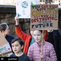 This image from Huddersfield, West Yorkshire, England, shows one of more than 50 protests planned across UK calling for urgent action on climate change. In the days leading to the protesters, school leaders warn students they should not miss lessons to take part, February 2019.  Photo credit: PA — in Huddersfield.