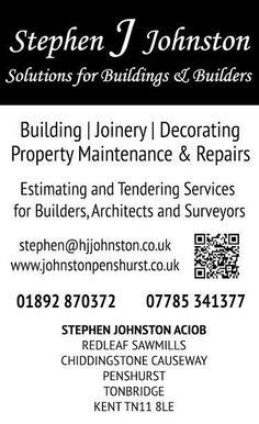 #Chiddingstone #Builders  www.johnstonpenshurst.co.uk