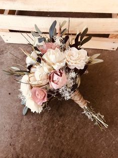 Sola Wood Flowers + Dusty Rose + Wood Flower + Forever Bouquet + Sola Wood Wedding + Pink + Ivory + Olive Branch Greenery - Best Picture For wedding table For Your Taste You are looking for something, and it is going to t - Fall Wedding, Rustic Wedding, Our Wedding, Dream Wedding, Wedding Ideas, Wedding Ceremony, Wedding Rings, Yacht Wedding, Church Wedding
