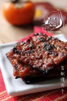 Bernice's Kitchen: 自制猪肉干