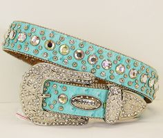 Montana West Bling Belts | MONTANA WEST BELT Crystal Cross Concho and Rhinestone Studded Natural ...