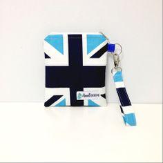 Union Jack Change Purse Blue | Maxwell Designs