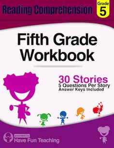 Printables 5th Grade Reading Comprehension Worksheets Free seventh grade reading comprehension worksheets this fifth workbook includes 30 high quality and engaging passages each