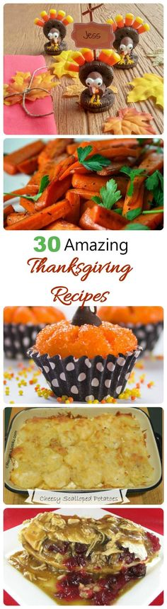 These 20 Amazing Thanksgiving Recipes will make sure that your holiday celebration is a huge success. Planning the ultimate Thanksgiving dinner just got easier! #thanksgivingdinner #thanksgivingrecipes