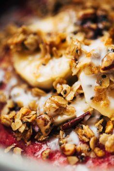 Inner Goddess Raspberry Breakfast Bowls