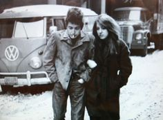 Bob Dylan and Suze Rotolo, Greenwich Village, early 1960s