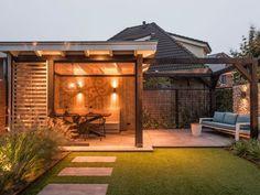 New Garden Shed Office Yards Ideas Garden Care, Garden Pool, Glass Garden, Shade Garden, Back Gardens, Outdoor Gardens, Patio Design, Garden Design, Outside Living