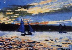 Winslow Homer -Gloucester Sunset-Fine Art