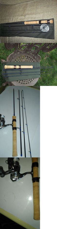 Fly Fishing Rods 23819: Custom Built Fly Or Spinning Rod, 7 6 4Pc. 4Wt. Travel Model, New And Versatile -> BUY IT NOW ONLY: $110 on eBay!