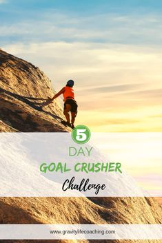 5 Day Goal Crusher Challenge Cheatsheet!  5 Days of Tools and Strategies you need to reach your short and long term goals!  Create your Dream Life | Goal Setting | Vision Board | Mindset | Personal Growth | New Years Resolution #goals #goalsettting #newyearsresolution #gravitylifecoaching Erin Dickson | Gravity Life Coaching | www.gravitylifecoaching.com Success Mindset, Positive Mindset, Goal Setting Life, Making Goals, Time Management Tips, Online Entrepreneur, Life Goals, Dream Life, Law Of Attraction