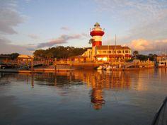 Harbour Town, Hilton Head Island, South Carolina.