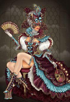 Venice Carnival by dimary.deviantart.com
