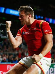 Super Dan! Dan Biggar that is, who was man of the match, didn't miss a single kick and kept Wales in the game, before the crucial score came.