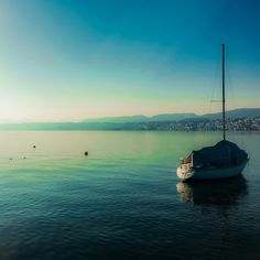 Early Morning - Lake Zurich Lake Zurich, My Town, Early Morning, Switzerland, Mountains, Beach, Water, Travel, Outdoor