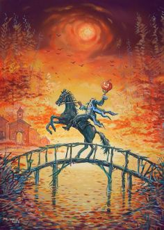 Headless Horseman Painting by jack connelly