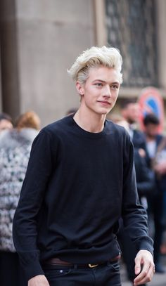 exhead: Lucky Blue Smith at MFW F/W 2015
