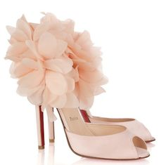 Bridal Shoes | Christian Louboutin Carnaval 120 Embellished Satin Sandals