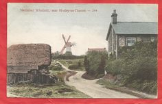 NETTLEBED WINDMILL near HENLEY ON THAMES, OXFORDSHIRE,OXON. in Collectables, Postcards, Topographical: British | eBay