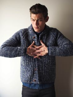 Lee Jeans, great sweater, texture, color.